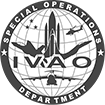 IVAO HQ-SOD Special Operations Department logotype