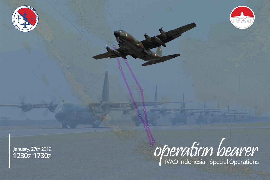 IVAO Operation Bearer special operations event