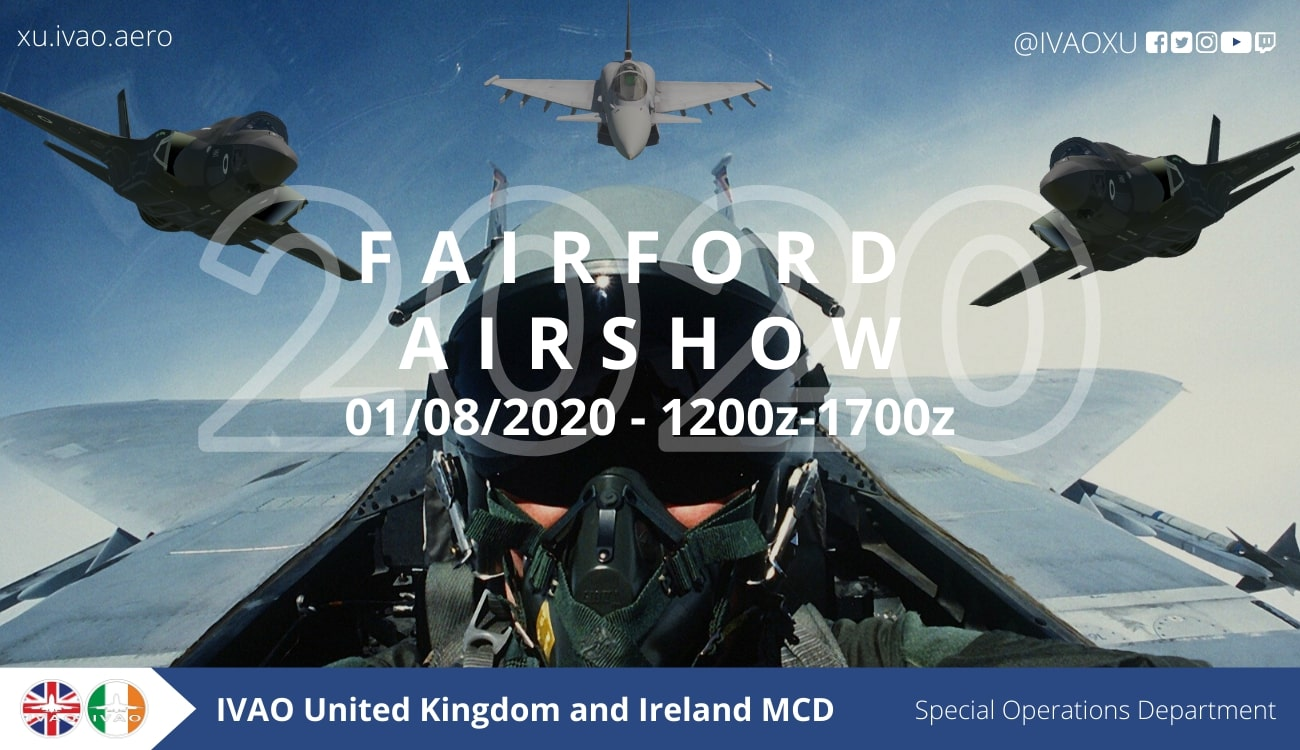 IVAO Fairford Airshow special operations event