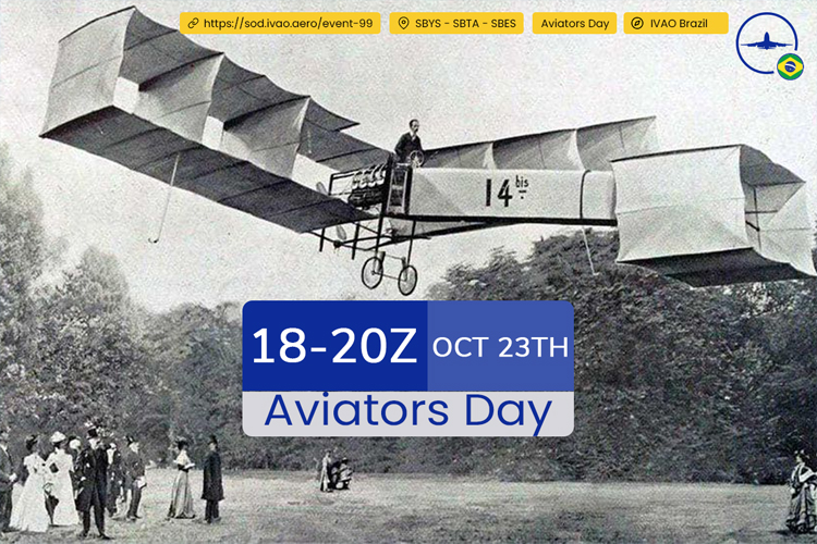 IVAO Aviators Day special operations event