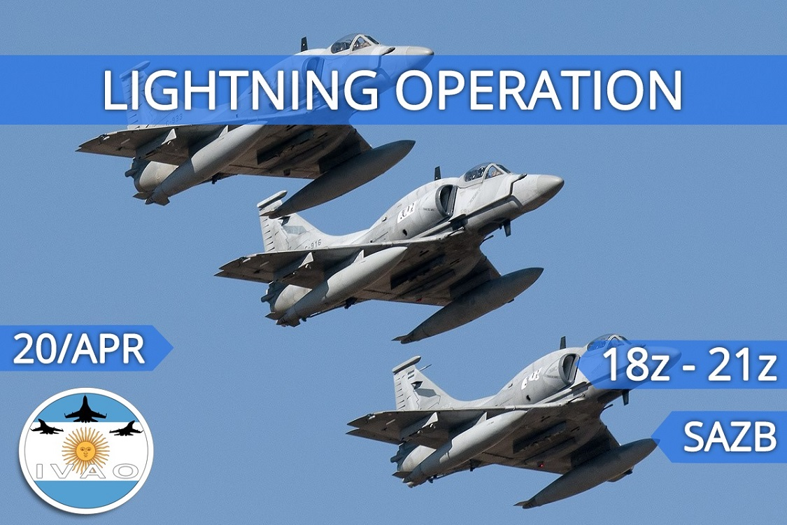 IVAO Lightning Operation special operations event