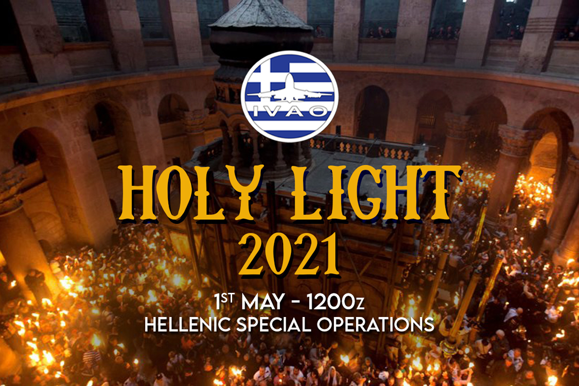 IVAO HOLY LIGHT special operations event
