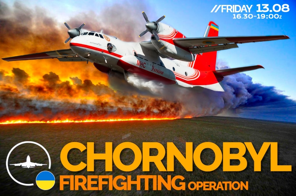 IVAO Chornobyl Firefighting Operation special operations event