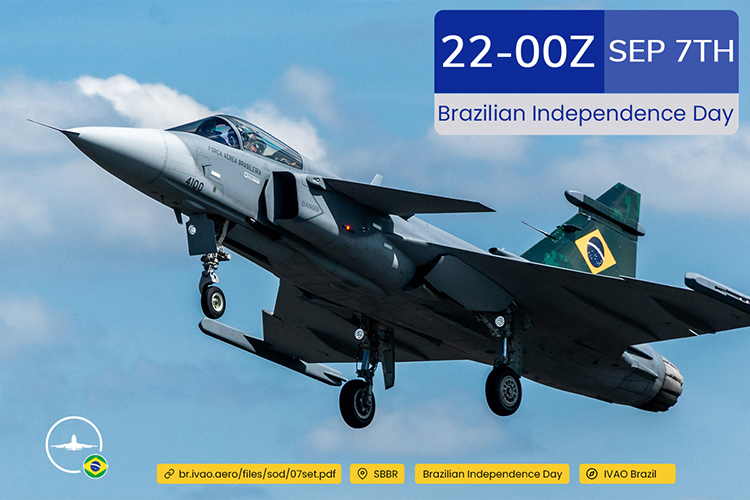 IVAO Brazilian Independence Day 2021 special operations event