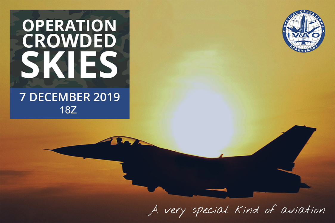 IVAO Operation Crowded Skies XV special operations event