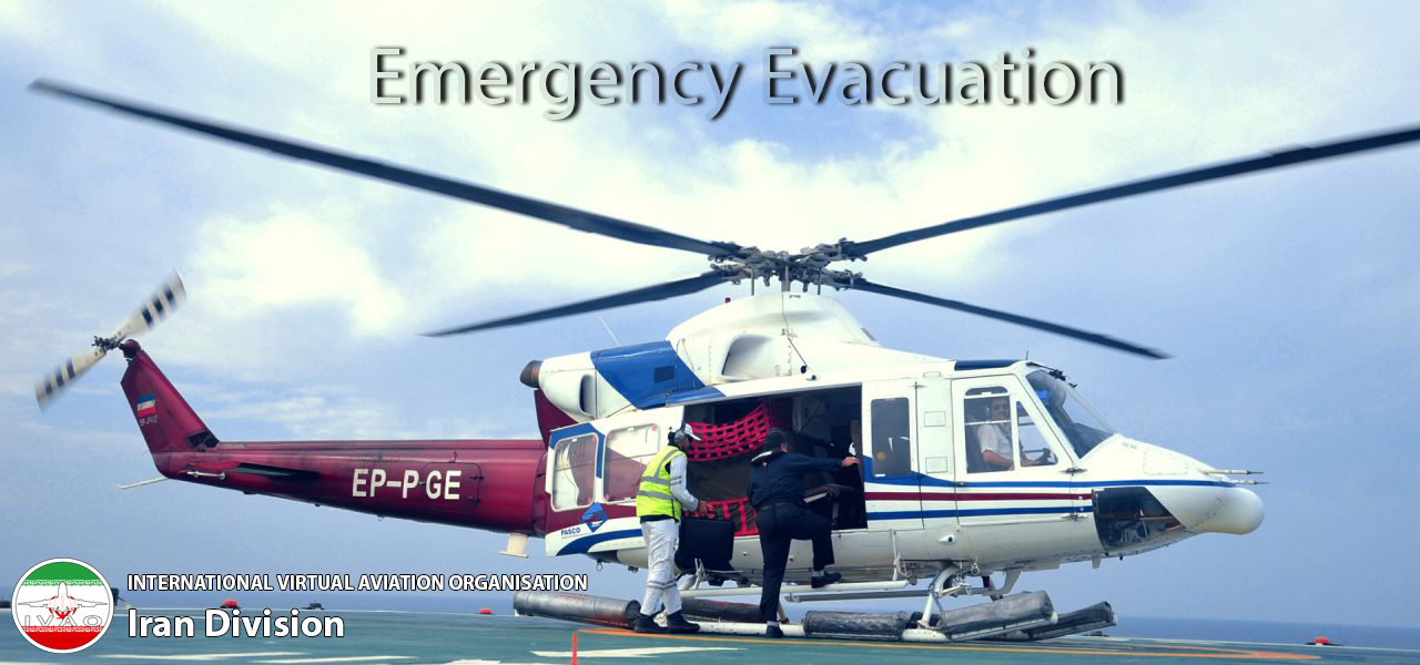 IVAO Emergency Evacuation special operations event