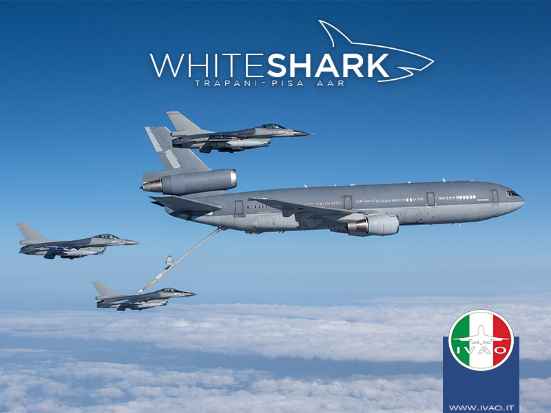 IVAO WHITE SHARK 2020 special operations event