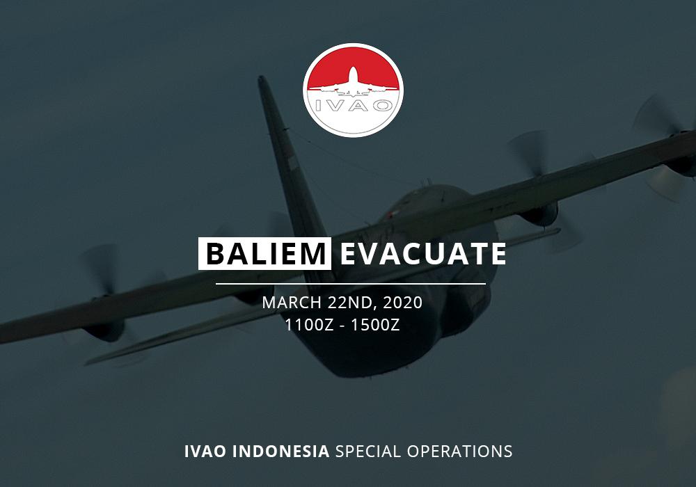 IVAO Baliem Evacuation special operations event