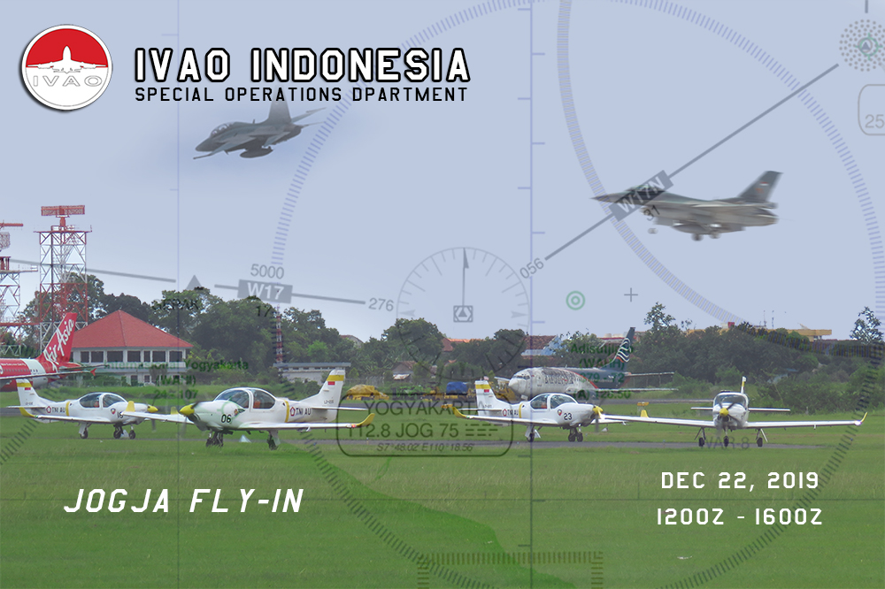 IVAO Jogja Fly In special operations event