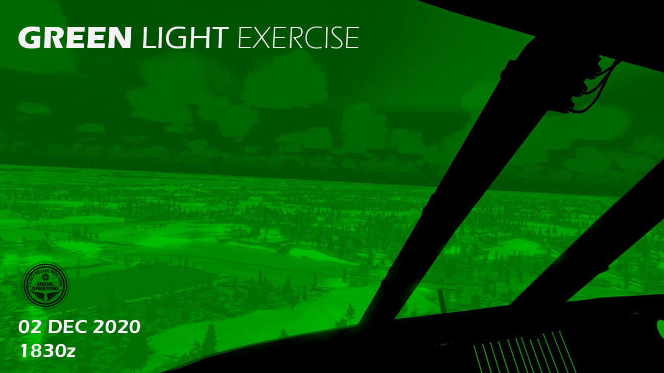 IVAO Green Light Exercise special operations event