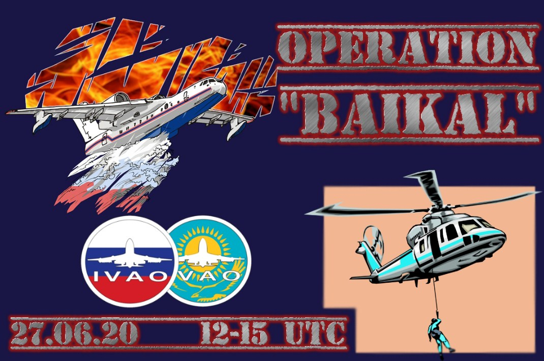 IVAO Operation Baikal special operations event