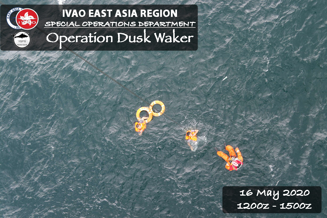 IVAO Operation Dusk Waker special operations event