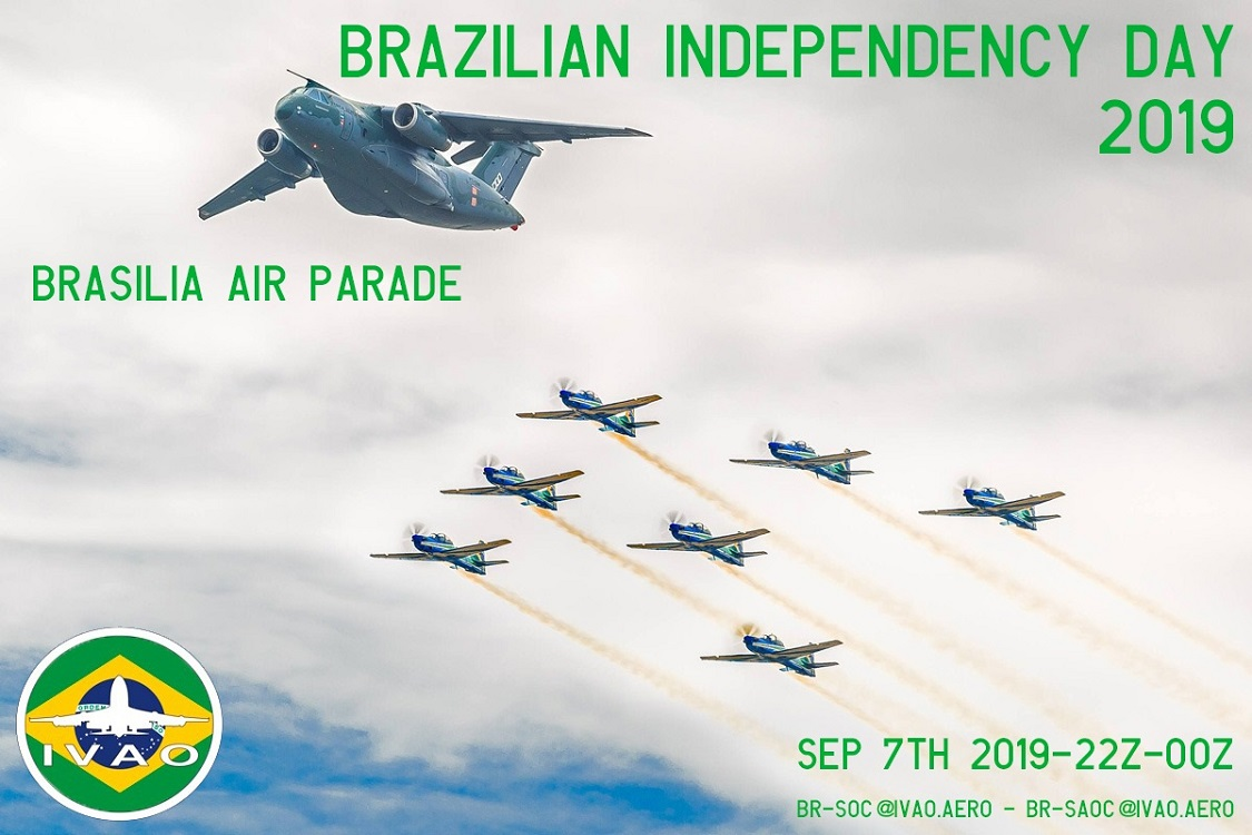 IVAO Brazilian Independence Day special operations event