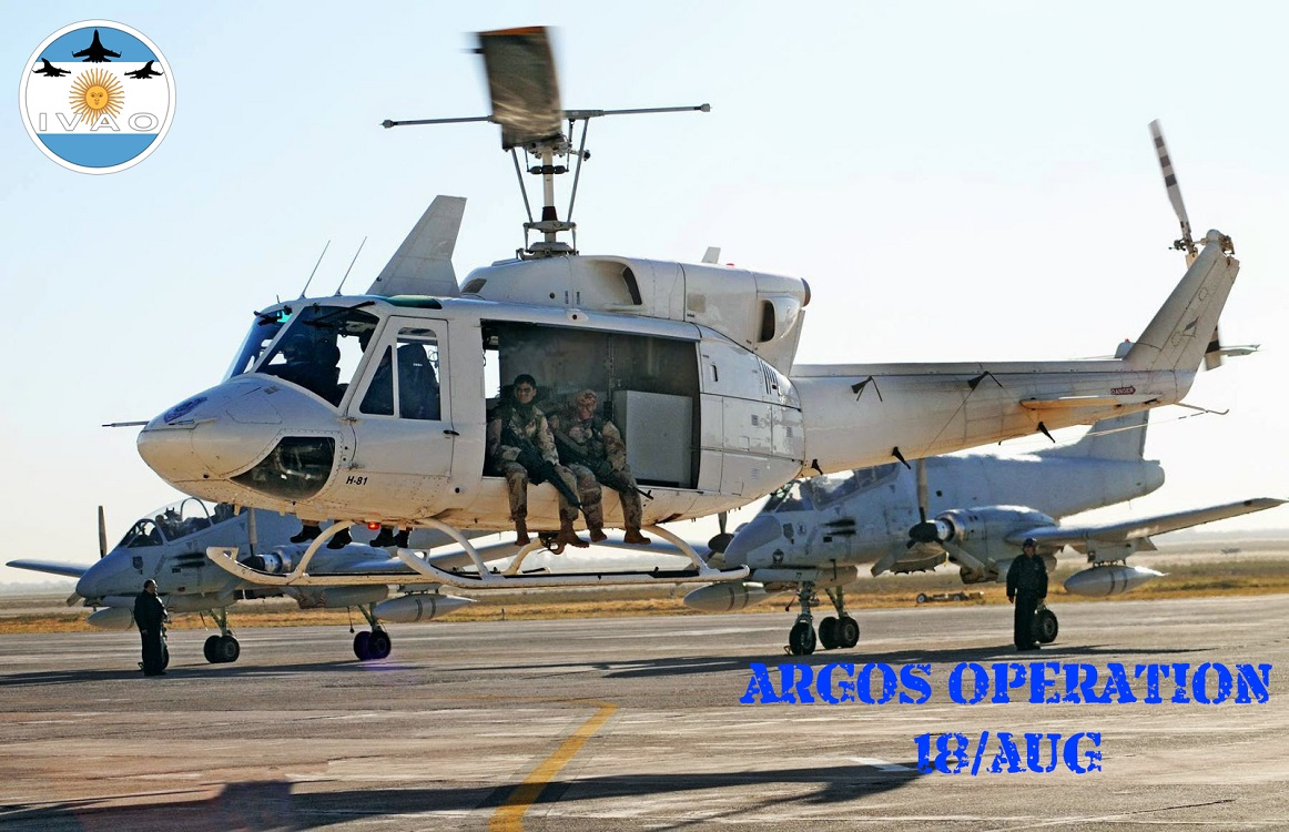 IVAO Argos Operation special operations event