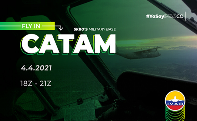 IVAO FLY IN CATAM special operations event