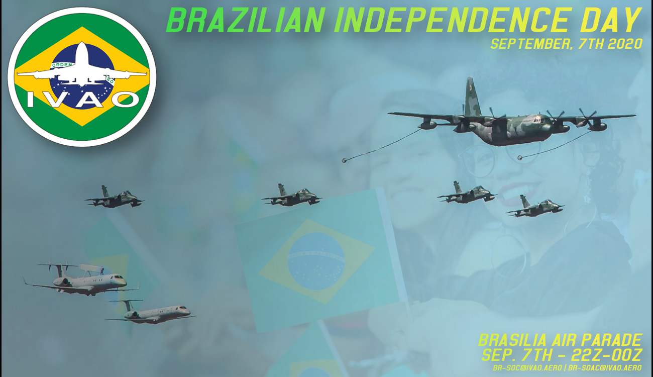 IVAO Brazilian Independence Day 2020 special operations event