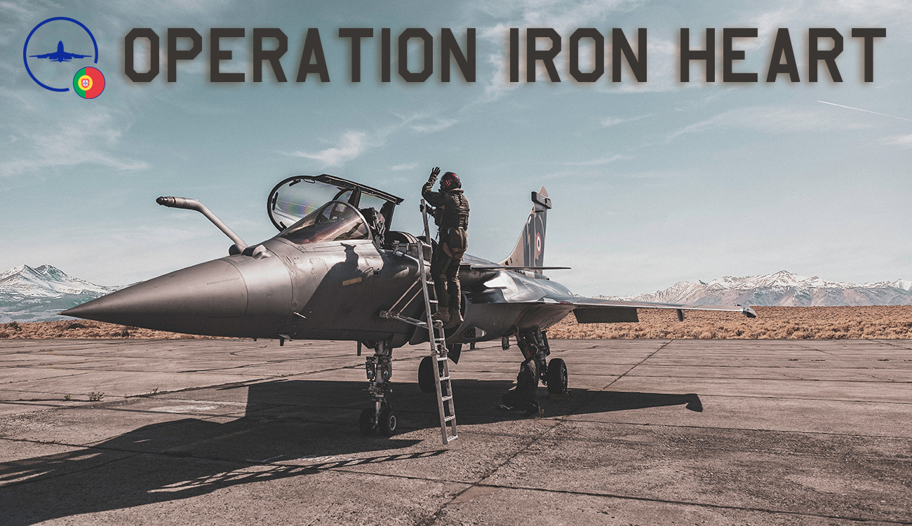 IVAO Operation Iron Heart special operations event