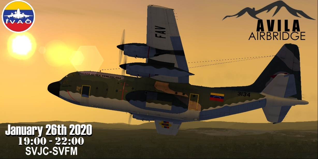 IVAO Avila Airbridge special operations event