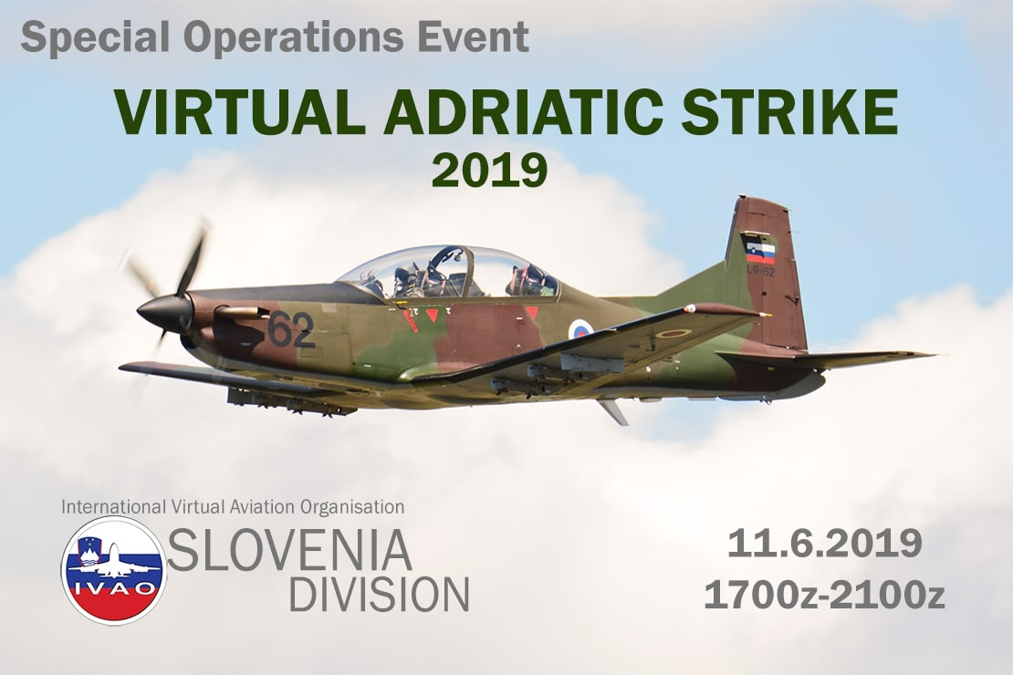 IVAO Virtual Adriatic Strike 2019 special operations event
