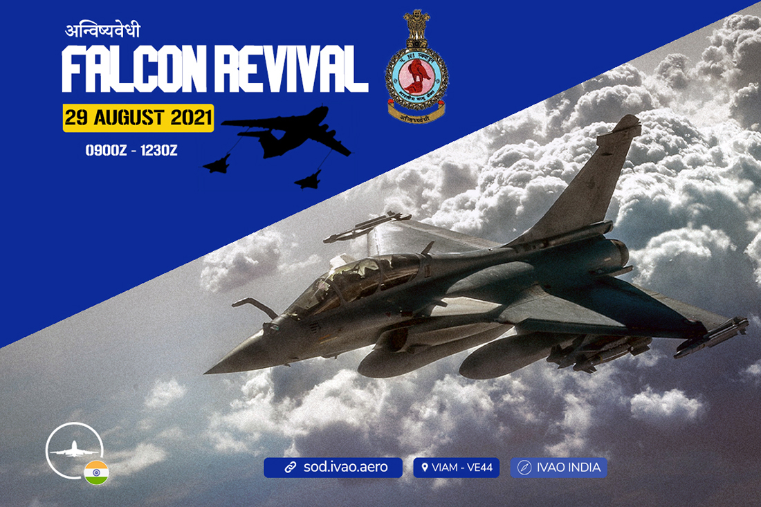 IVAO Falcon Revival special operations event