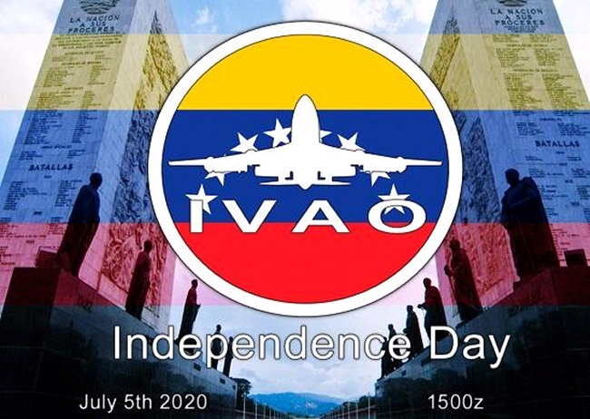 IVAO Independence Day special operations event