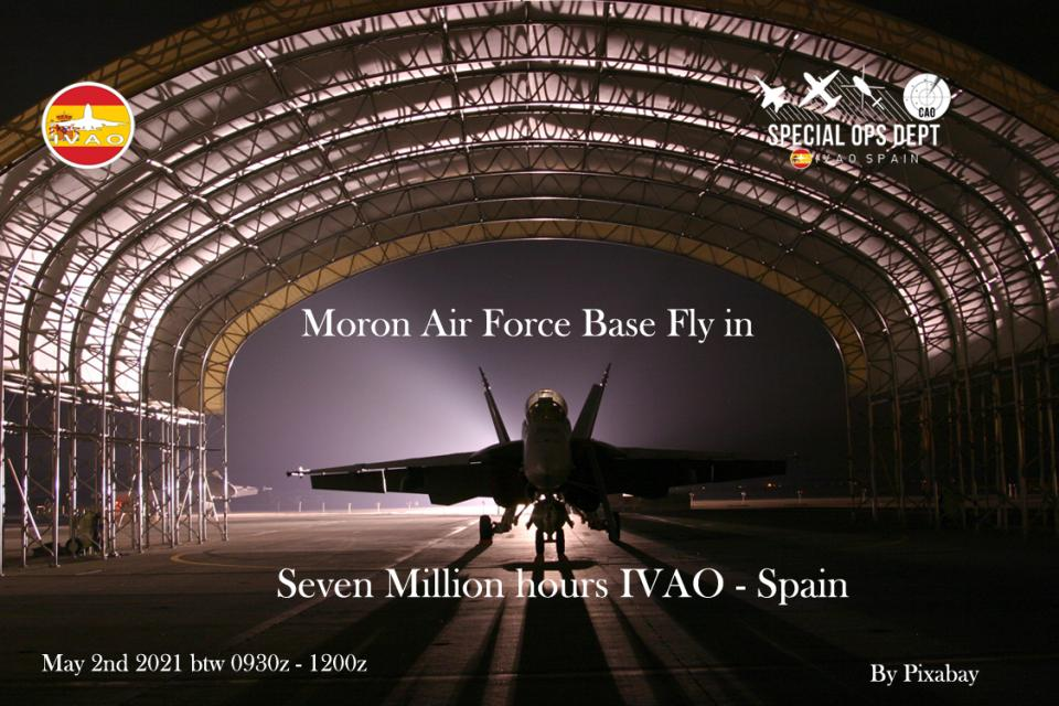 IVAO Seven Million hours IVAO Spain special operations event